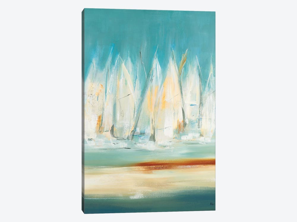 A Day to Sail I by Lisa Ridgers 1-piece Canvas Artwork