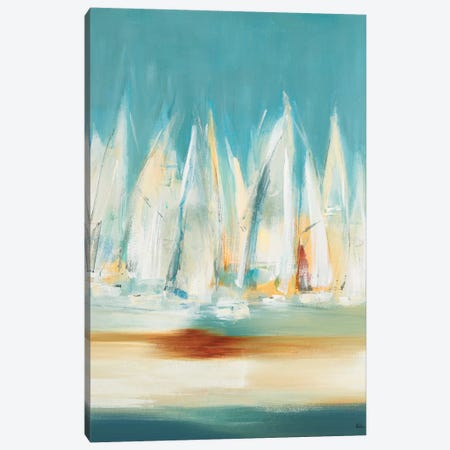 A Day to Sail II Canvas Print #LRI159} by Lisa Ridgers Canvas Wall Art
