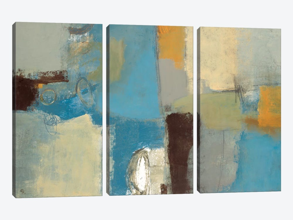Composure by Lisa Ridgers 3-piece Canvas Wall Art