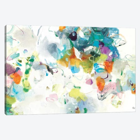 Every Single Day Canvas Print #LRI162} by Lisa Ridgers Art Print