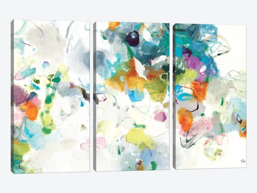 Every Single Day by Lisa Ridgers 3-piece Canvas Art Print
