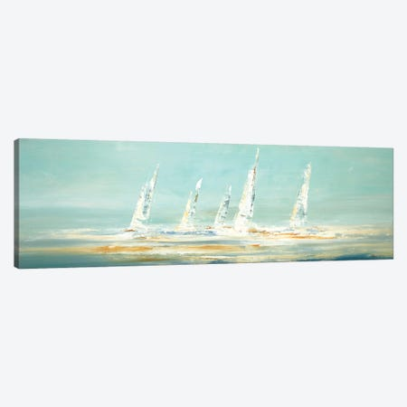 Sail Day II Canvas Print #LRI176} by Lisa Ridgers Art Print