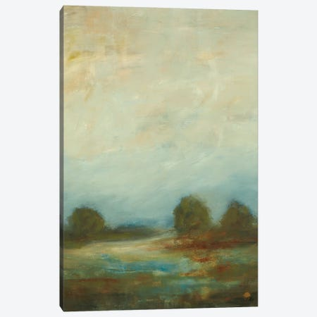 Contemporary Vista I Canvas Print #LRI17} by Lisa Ridgers Canvas Art Print