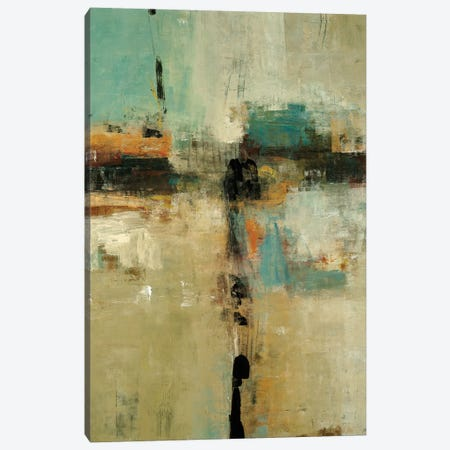 New Era Approaches 3-Piece Canvas #LRI196} by Lisa Ridgers Canvas Print