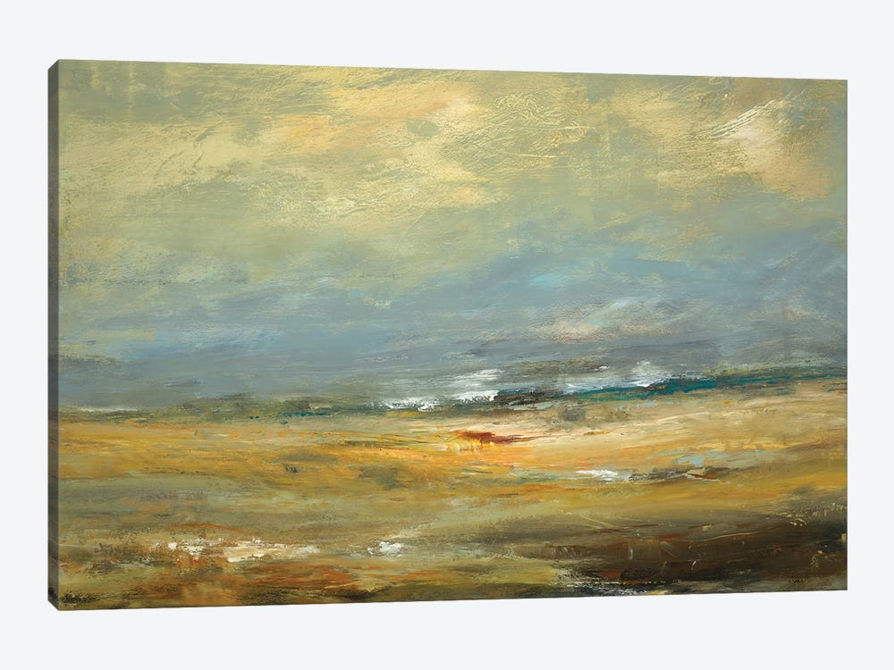 Sunlit Land by Lisa Ridgers 1-piece Canvas Artwork