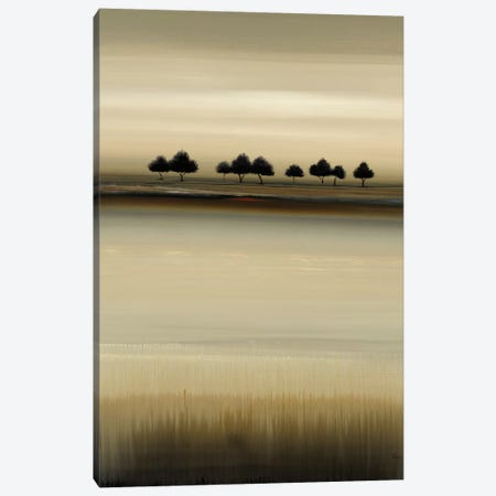 Treeline Expressions I Canvas Print #LRI204} by Lisa Ridgers Canvas Art Print