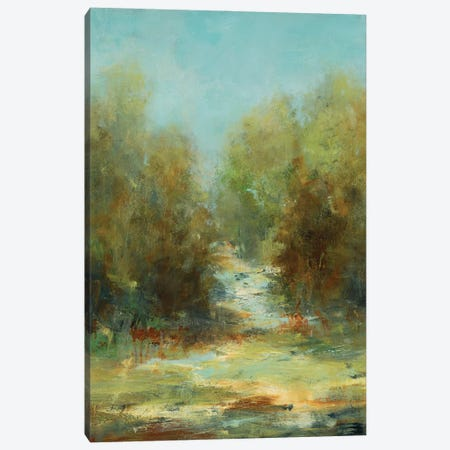 A Walk In The Woods Canvas Print #LRI206} by Lisa Ridgers Canvas Print