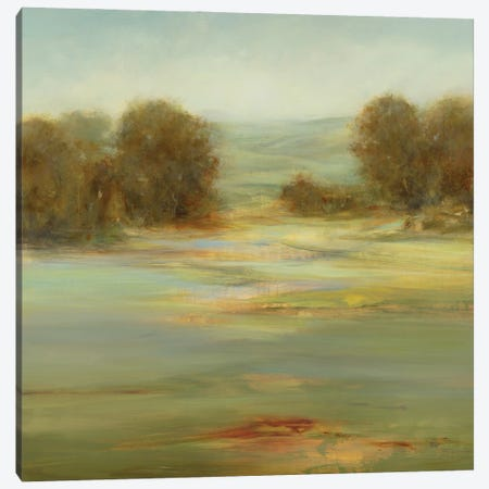 Calm Afternoon Canvas Print #LRI207} by Lisa Ridgers Art Print