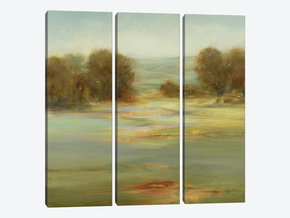 Calm Afternoon by Lisa Ridgers 3-piece Canvas Art