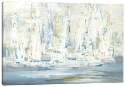 Regatta Time Canvas Art Print