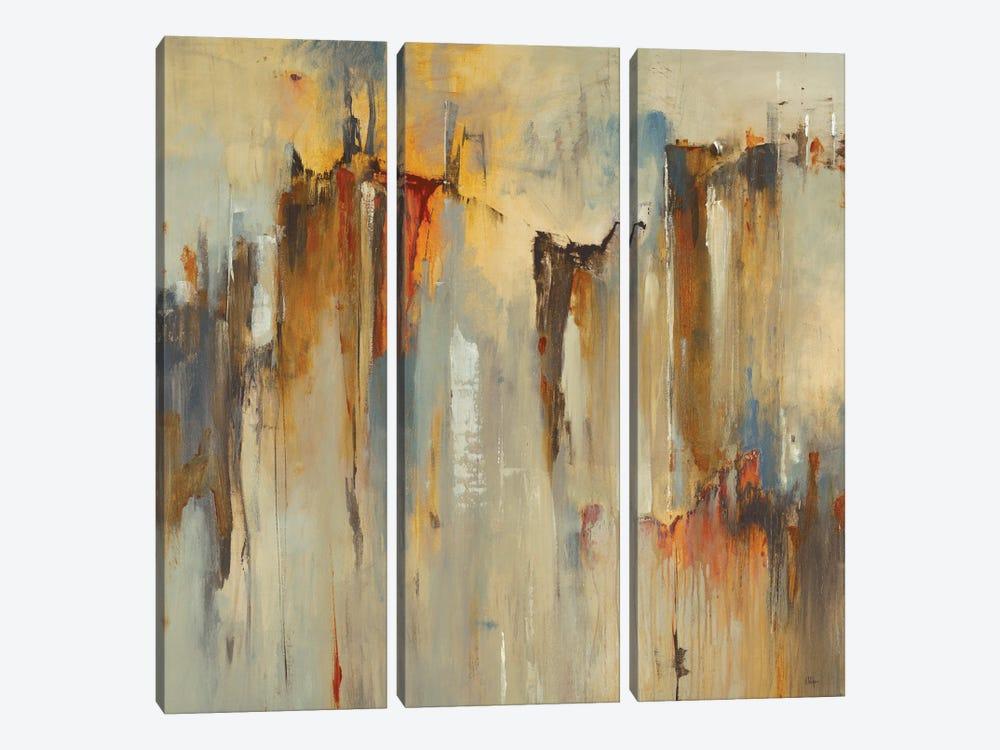 Urban Beat II by Lisa Ridgers 3-piece Canvas Wall Art