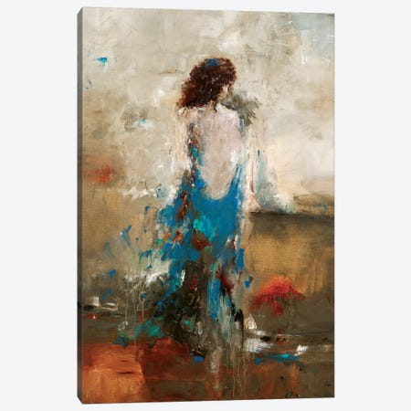 Elegant Moment Canvas Print #LRI23} by Lisa Ridgers Art Print