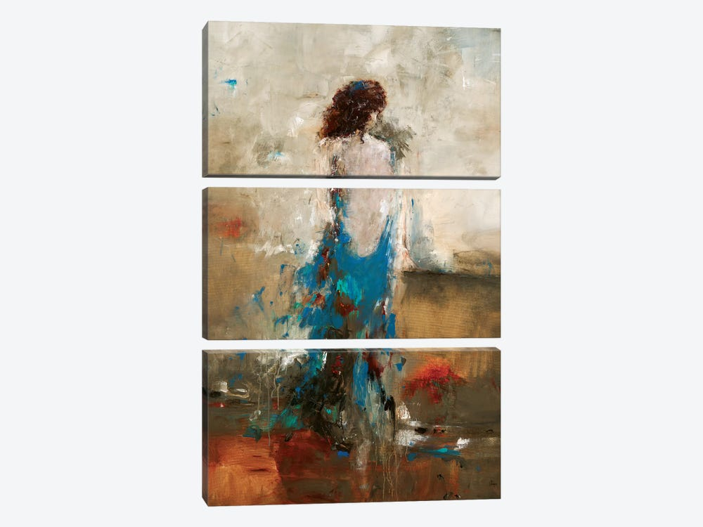 Elegant Moment by Lisa Ridgers 3-piece Canvas Art Print
