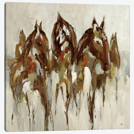 Equestrian Canvas Print #LRI26} by Lisa Ridgers Canvas Art