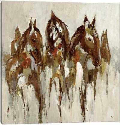 Equestrian Canvas Art Print