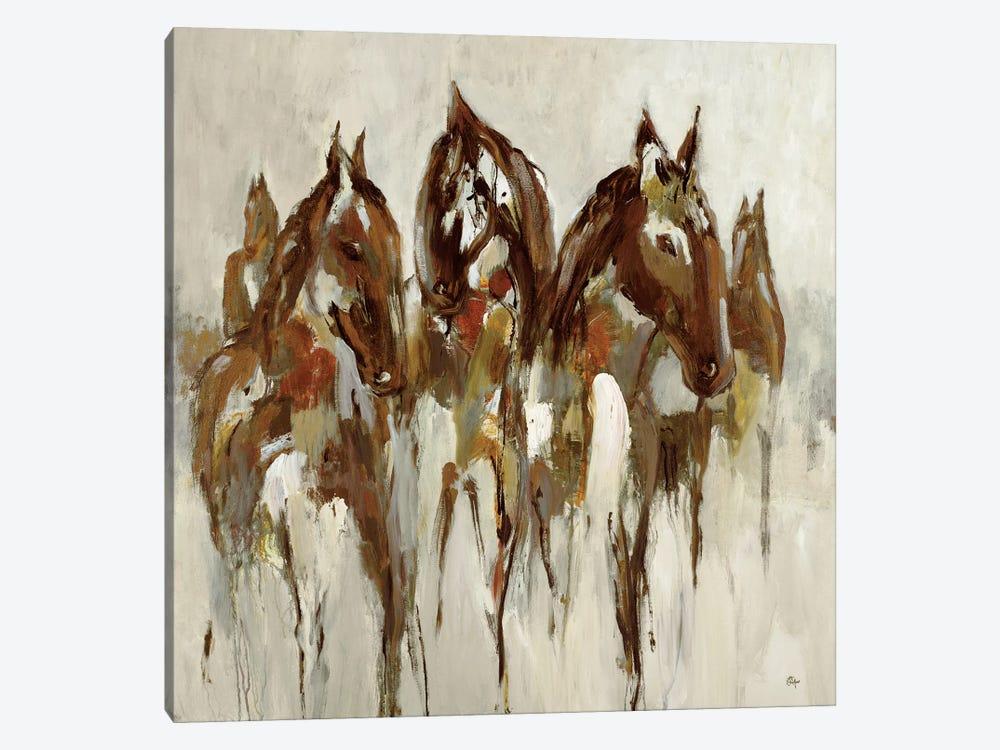 Equestrian by Lisa Ridgers 1-piece Canvas Artwork