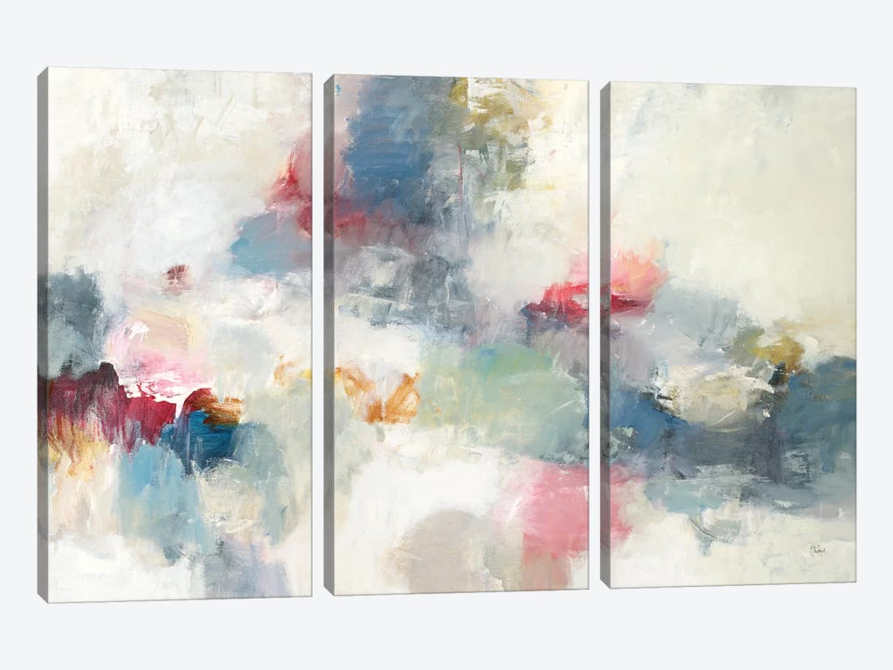 Expressions Of Today by Lisa Ridgers 3-piece Canvas Print