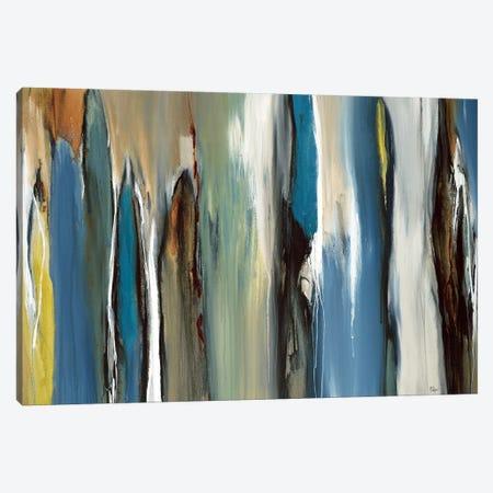 Fields Of Blue Canvas Print #LRI29} by Lisa Ridgers Canvas Art Print