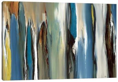 Fields Of Blue Canvas Art Print