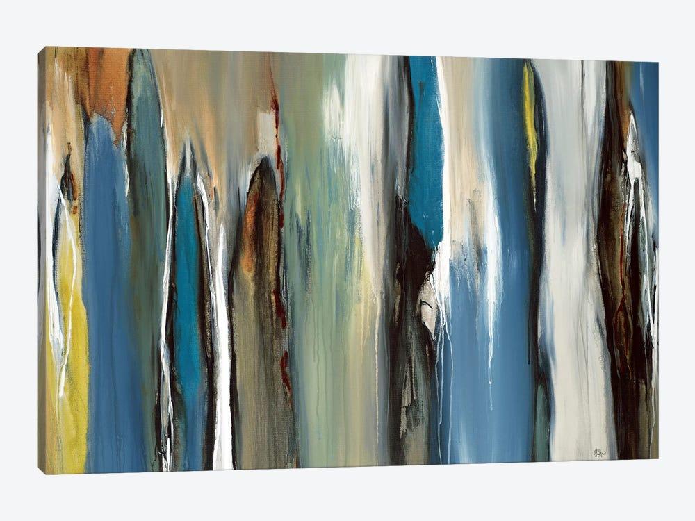 Fields Of Blue by Lisa Ridgers 1-piece Art Print