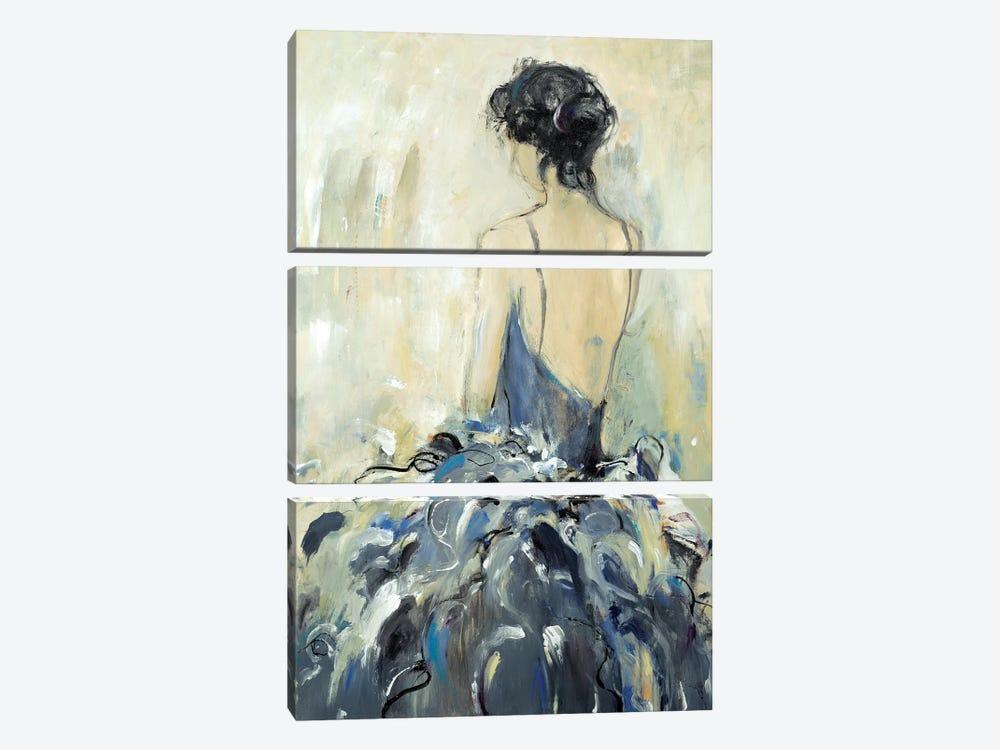 Fond Reflections by Lisa Ridgers 3-piece Canvas Artwork