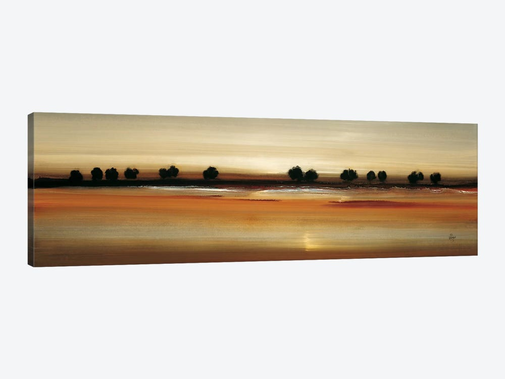 Golden Plains by Lisa Ridgers 1-piece Canvas Print