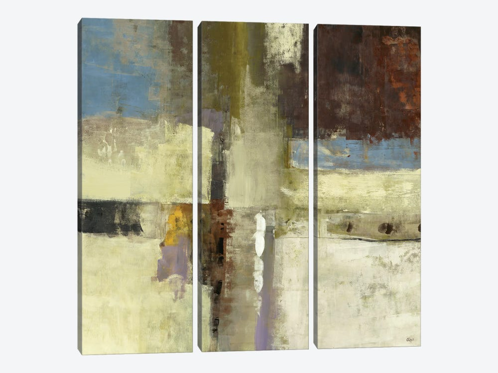 Journey I by Lisa Ridgers 3-piece Canvas Artwork