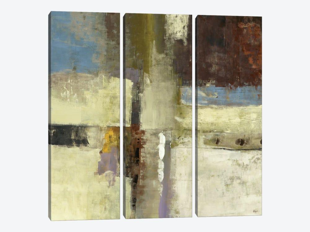 Journey I by Lisa Ridgers 3-piece Canvas Artwork
