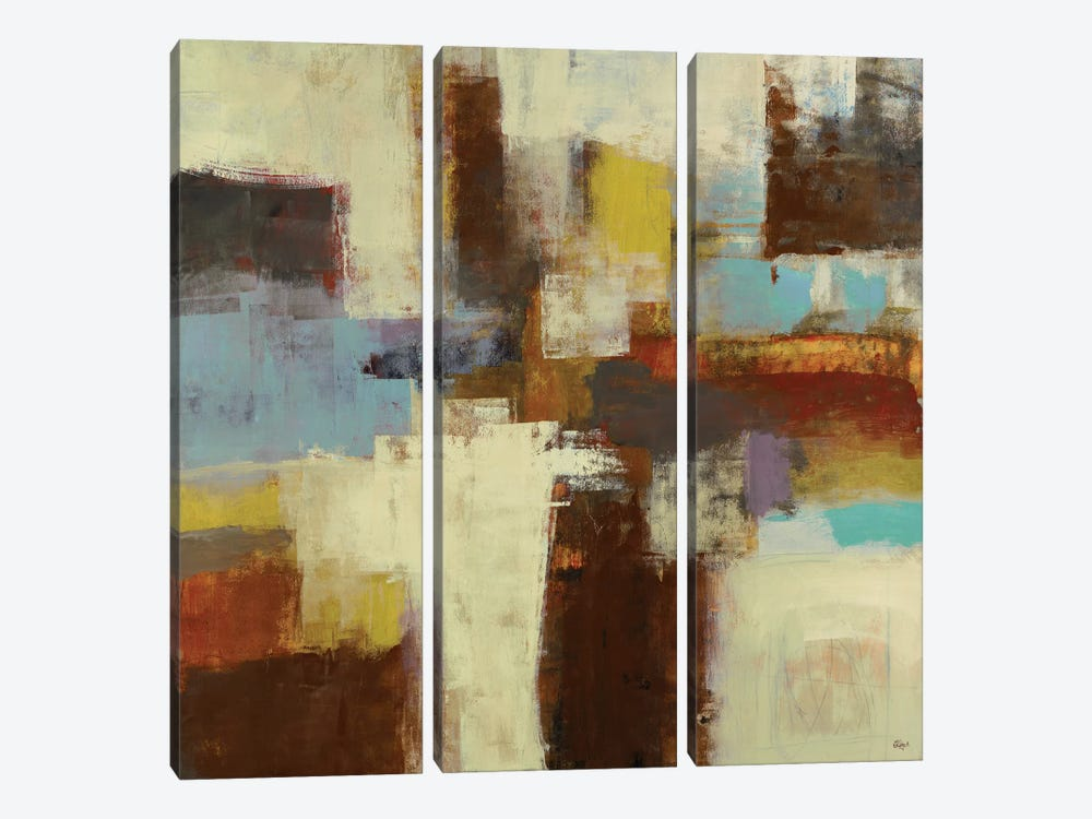 Journey II by Lisa Ridgers 3-piece Canvas Art Print