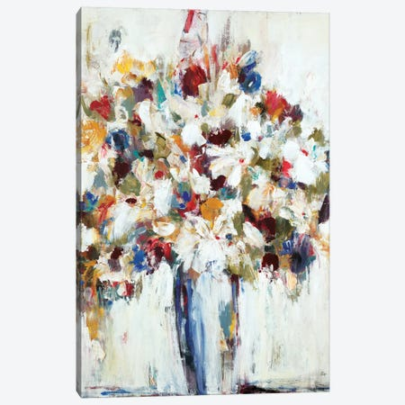 Jubilant Canvas Print #LRI37} by Lisa Ridgers Art Print