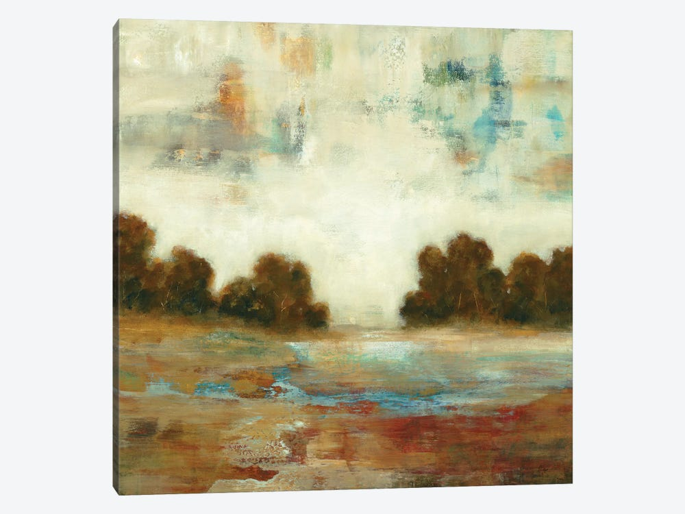 Layered Scape by Lisa Ridgers 1-piece Canvas Art Print
