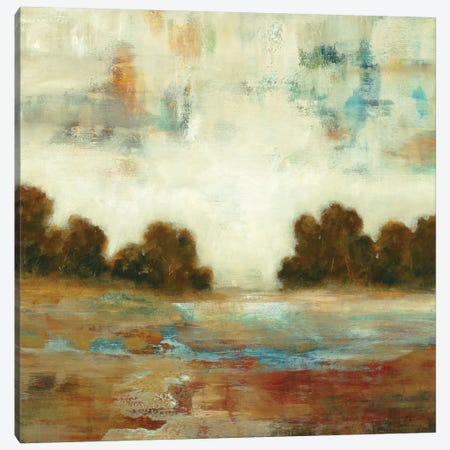 Layered Scape Canvas Print #LRI38} by Lisa Ridgers Canvas Wall Art