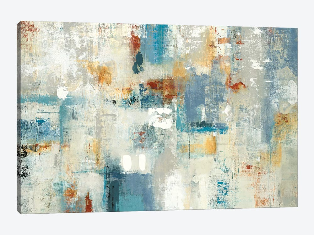 Layers Of Connection by Lisa Ridgers 1-piece Canvas Artwork
