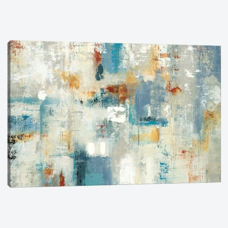 Layers Of Connection Canvas Print #LRI39} by Lisa Ridgers Canvas Wall Art