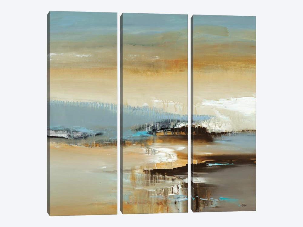 By The Water by Lisa Ridgers 3-piece Canvas Wall Art