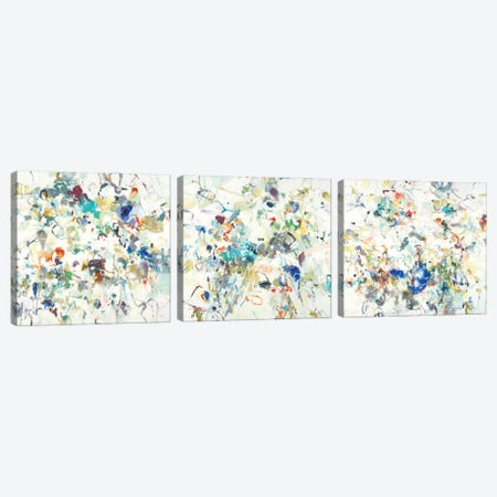 Party Time Triptych Canvas Print Set #LRI3HSET001} by Lisa Ridgers Canvas Artwork