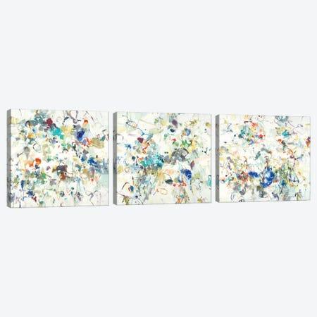 Party Time Triptych Canvas Print Set #LRI3HSET001} by Lisa Ridgers Canvas Artwork