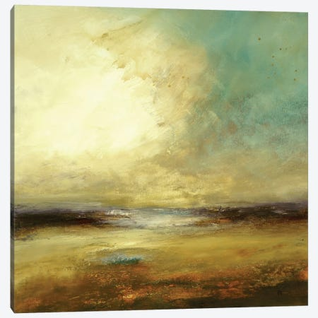 New Land Canvas Print #LRI46} by Lisa Ridgers Canvas Artwork