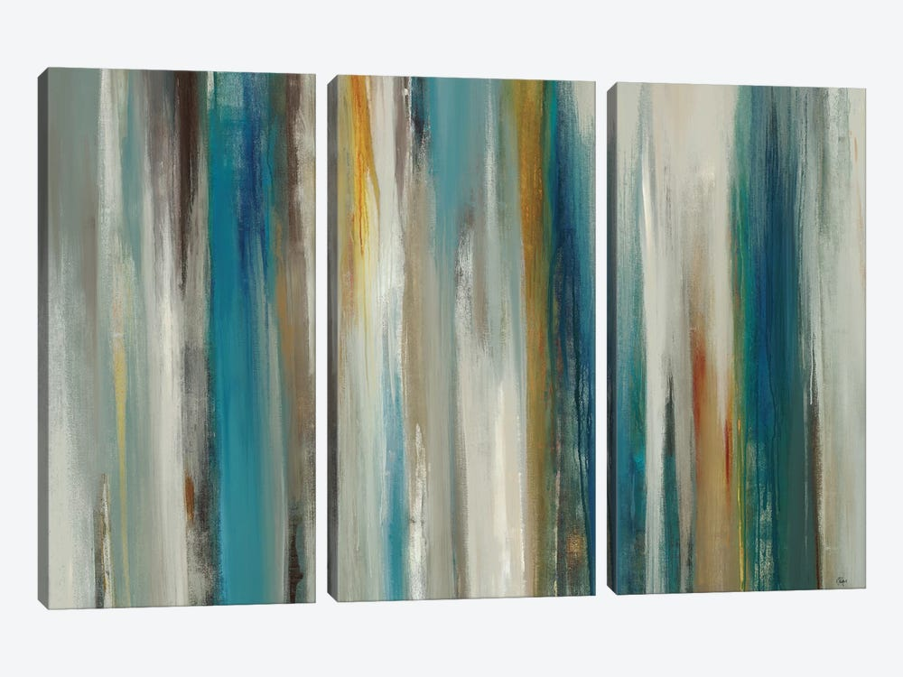 Passage Of Time by Lisa Ridgers 3-piece Canvas Wall Art