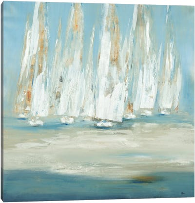 Regatta Canvas Art Print