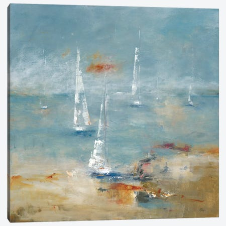 Sail Away Canvas Print #LRI58} by Lisa Ridgers Canvas Artwork