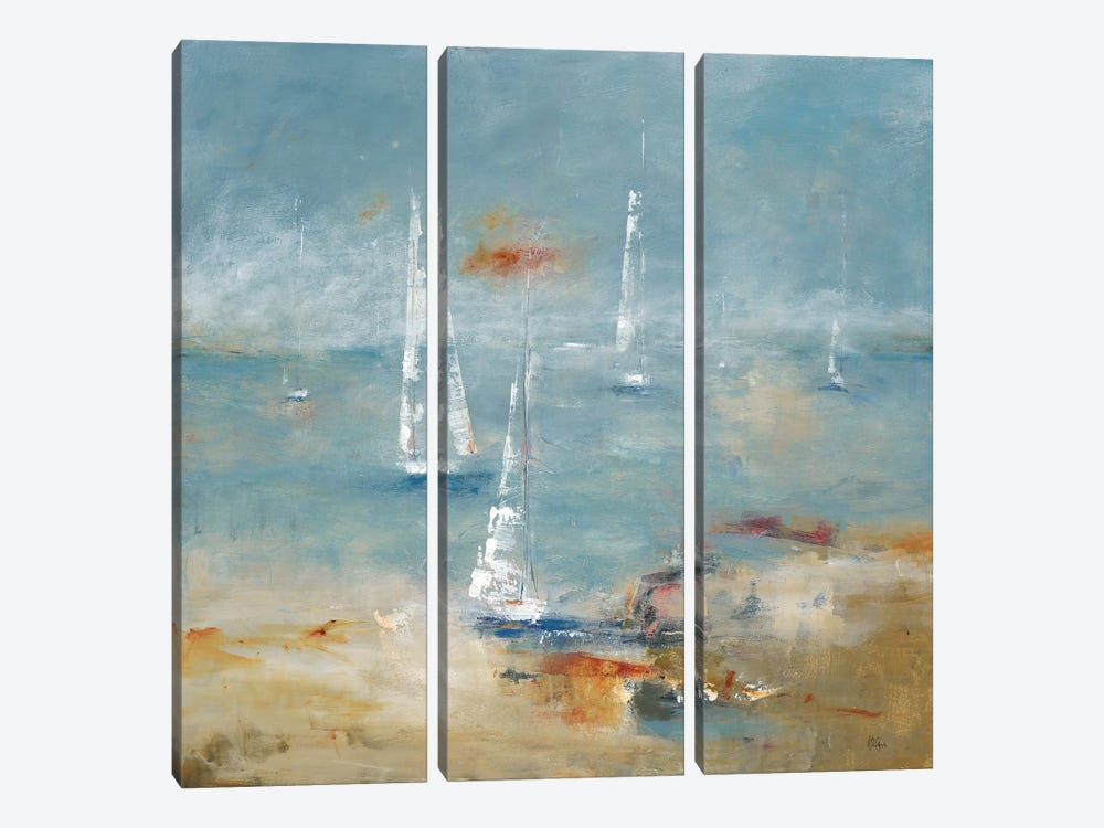 Sail Away by Lisa Ridgers 3-piece Art Print