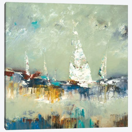 Sailing Away Canvas Print #LRI59} by Lisa Ridgers Canvas Art