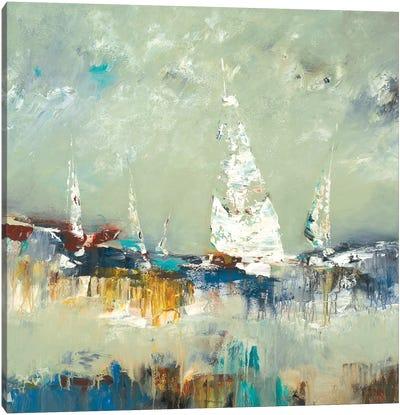 Sailing Away Canvas Art Print