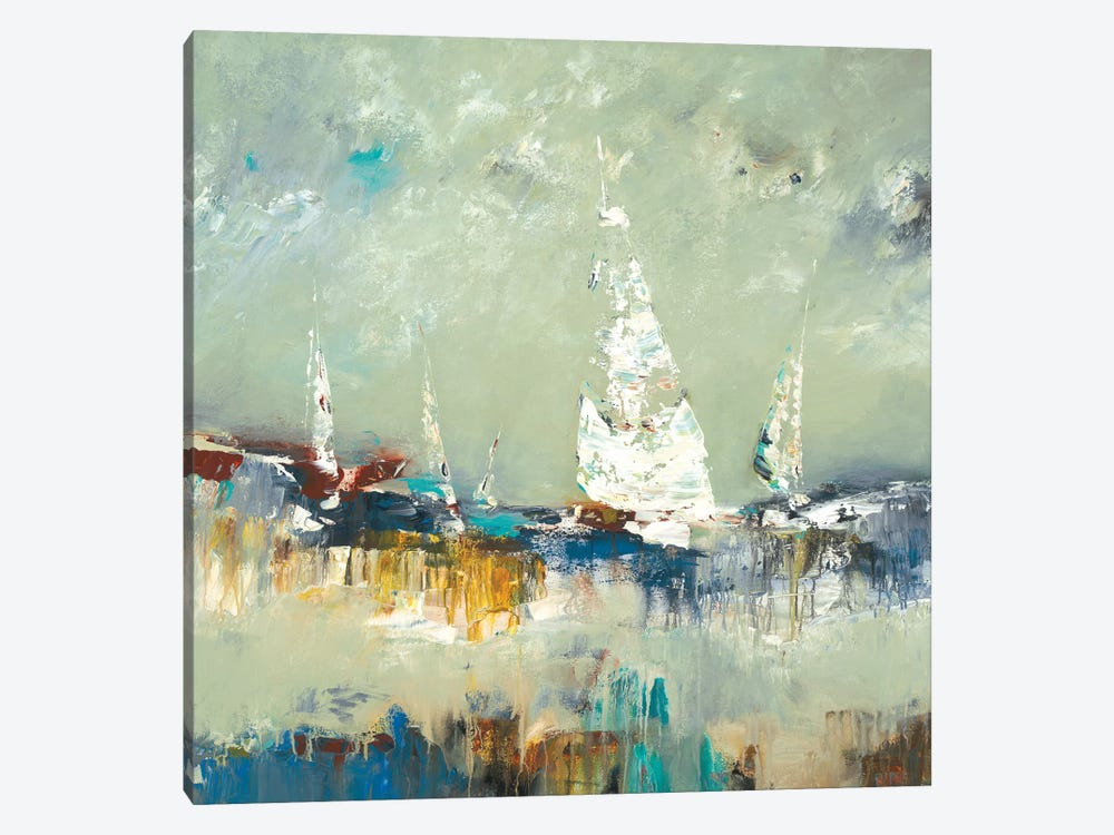 Sailing Away by Lisa Ridgers 1-piece Canvas Wall Art