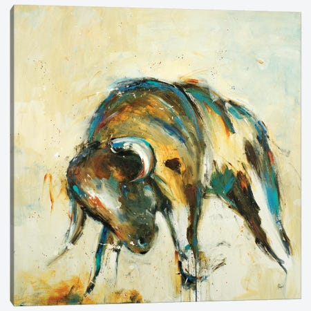 Toro Canvas Print #LRI69} by Lisa Ridgers Canvas Art Print