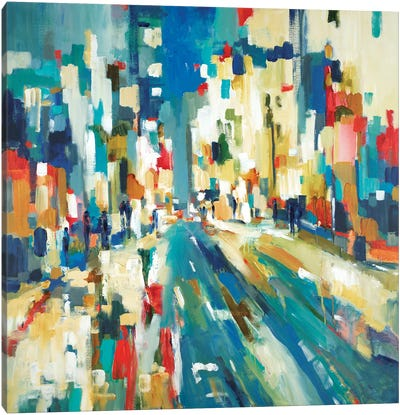 Urban Beat Canvas Art Print