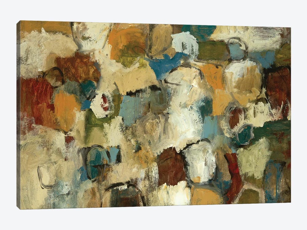 Urban Collection by Lisa Ridgers 1-piece Canvas Artwork