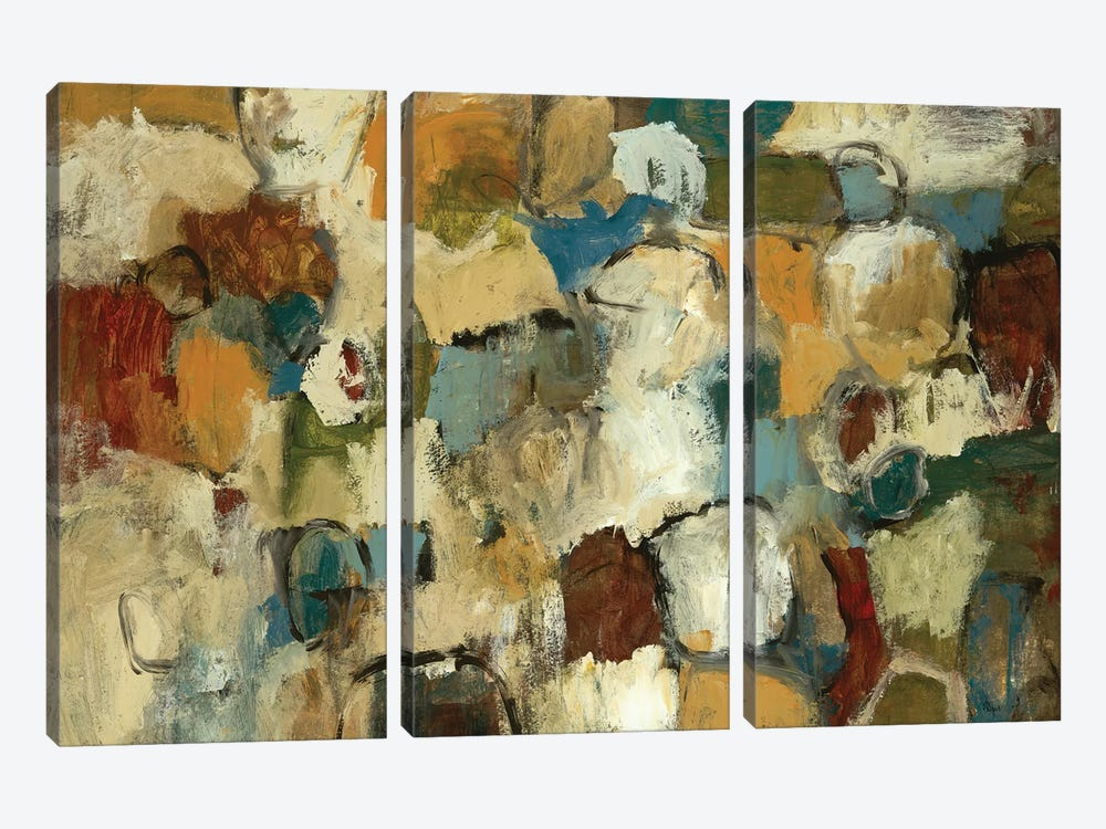 Urban Collection by Lisa Ridgers 3-piece Canvas Art