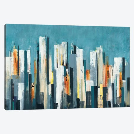 Urban Play Canvas Print #LRI72} by Lisa Ridgers Canvas Art